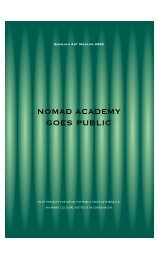 to download full program (pdf) - nomad academy