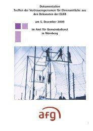 Dokumentation Treffen der Vertrauenspersonen für Ehrenamtliche ...