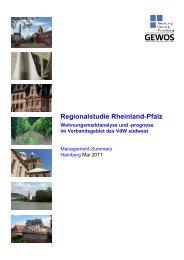 Regionalstudie - VdW südwest