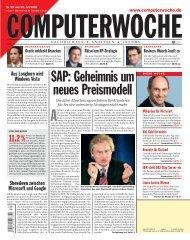SAP: Geheimnis um neues Preismodell