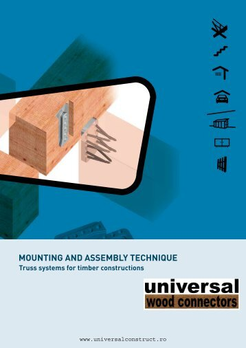 MOUNTING AND ASSEMBLY TECHNIQUE Truss systems for timber ...