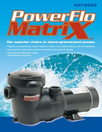 See Brochure - Cheap Pool Products