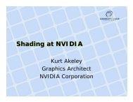 Cg Language - NVIDIA Developer Zone