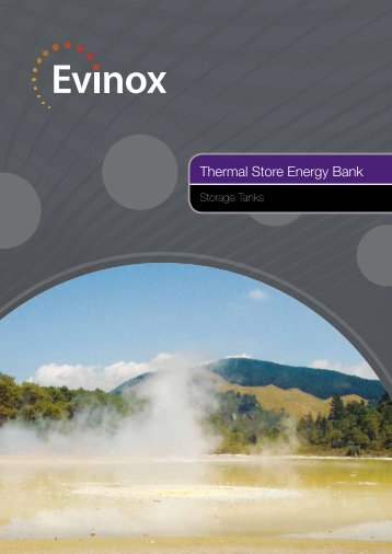 Thermal Store Brochure - Evinox