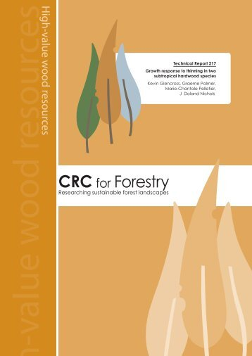 Download public report. - CRC for Forestry