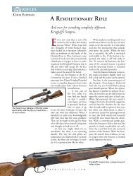 AREVOLUTIONARY RIFLE And now for something ... - Krieghoff