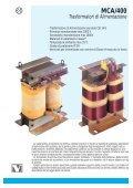 Catalogo Trasformatori Monofase a Colonna - Page 2