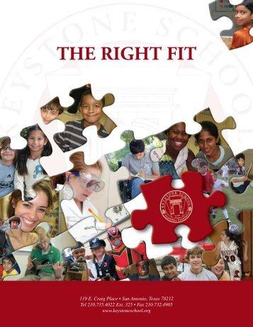 Admissions Brochure - Keystone School