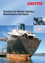 Solutions for Marine Industry, Maintenance and Repair