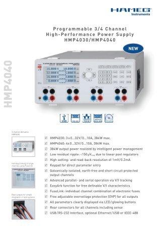 H M P 4040 - Tagor Instrumenti