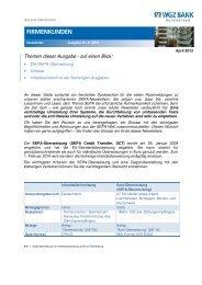 4. SEPA-Newsletter