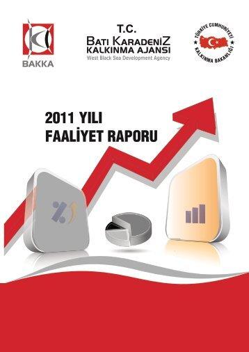 2011 yılı faaliyet raporu - Batı Karadeniz Kalkınma Ajansı