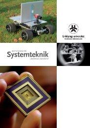 PDF-broschyr om ISY - Institutionen för systemteknik (ISY)