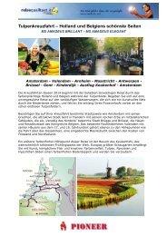 Tulpenkreuzfahrt – Holland und Belgiens schönste Seiten