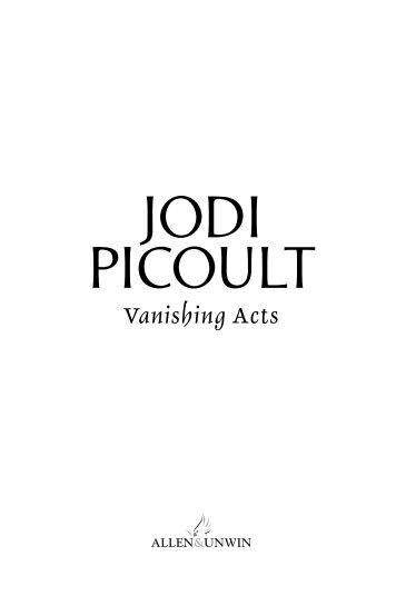 Read an extract (PDF) - Jodi Picoult