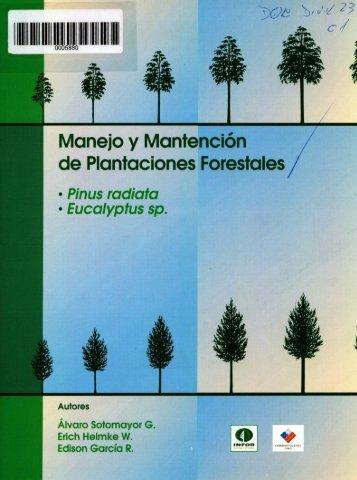 Manejo y Mantención de Plantaciones Forestales - Inicio