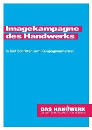 Imagekampagne des Handwerks - Brand Management - Handwerk.de