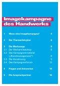 Imagekampagne des Handwerks - Brand Management - Handwerk.de - Seite 3