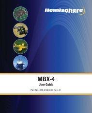 MBX-4 User Guide - Terrasond