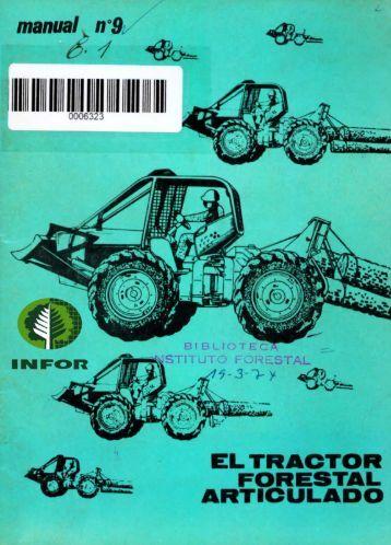 operacion del tractor forestal articulado - Inicio