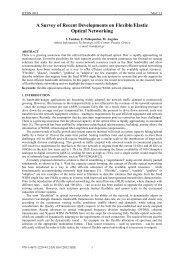 A Survey of Recent Developments on Flexible/Elastic ... - IEEE Xplore