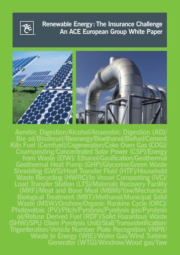 Renewable Energy - European Risk Insurance Management News ...