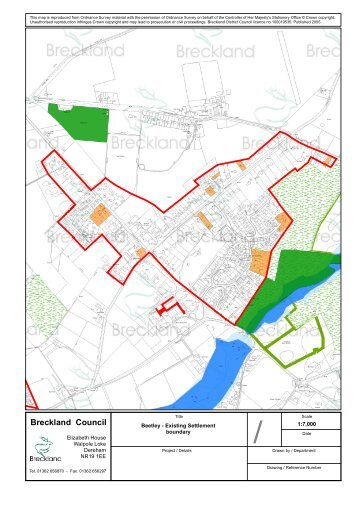 Appendix B Maps, item 33. PDF 2 MB - Breckland Council