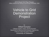 Vehicle to Grid Demonstration Project - U.S. Department of Energy