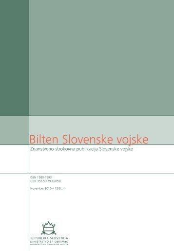 Bilten Slovenske vojske - Slovenska vojska