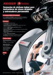 Formacion de ciclismo indoor para instructores de ... - Tecnosport