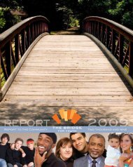REPORT - The Bridge for Youth