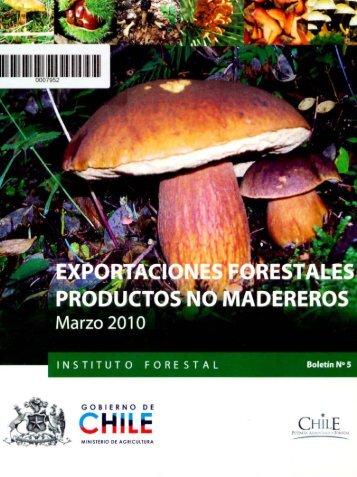 EXPORTACIONES PRODUCTOS fORESTALES NO MADEREROS ...