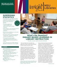 What's the Question? INQUIRY-BASED LEARNING IN LIBRARY ...