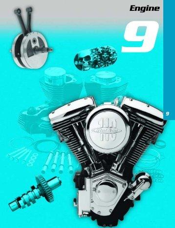 Engine - Custom Bikes by Mike