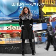 LETTERS from NEW YORK - Weiger
