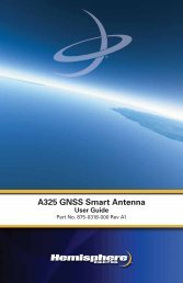 Product Name A325 GNSS Smart Antenna