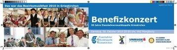 Benefizkonzert - Grieskirchen