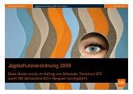 Jagdschutzverordnung 2009 Studie des STS