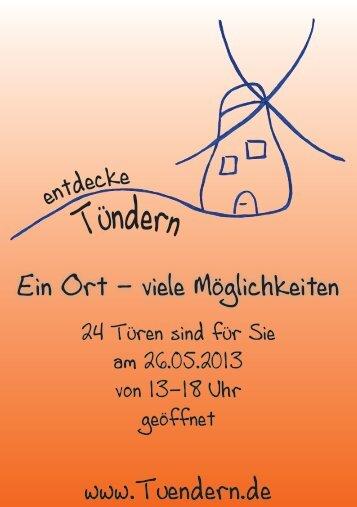 (PDF-Datei)! - von Tündern