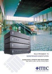 MultiPower 75 - ITEC Tontechnik u. Industrieelektronik GmbH