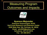 Measuring Program Outcomes and Impact