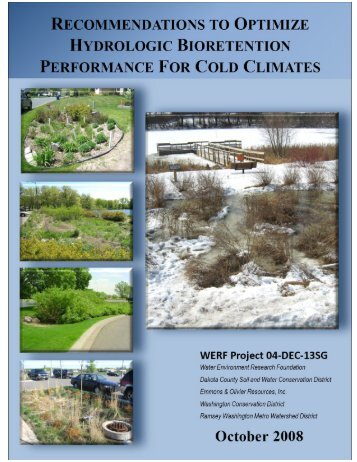 Recommendations to Optimize Hydrologic Bioretention Performance