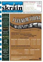 Skráin 10 . tbl. - 8. mars 2012 - Skarpur.is