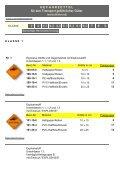 GEFAHRZETTEL für den Transport gefährlicher ... - Giese-GEF GmbH - Seite 4