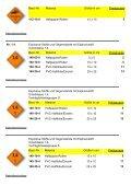 GEFAHRZETTEL für den Transport gefährlicher ... - Giese-GEF GmbH - Seite 5