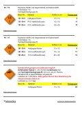 GEFAHRZETTEL für den Transport gefährlicher ... - Giese-GEF GmbH - Seite 6