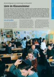 Lärm im Klassenzimmer - Fluesterndesklassenzimmer.de