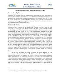 Apuntes Históricos sobre El Derecho Boliviano al Mar - Priradiotv.com