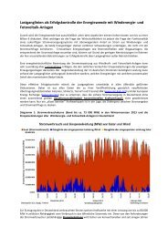 Lastganglinie als Erfolgskontrolle der Energiewende - BI-Knoten
