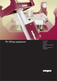Pit lifting equipment - nogra